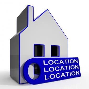 Free Stock Photo of Location Location Location House Means Perfect Area And Home