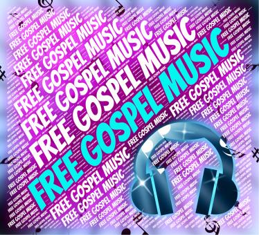 Free Stock Photo of Free Gospel Music Indicates Sound Tracks And Acoustic