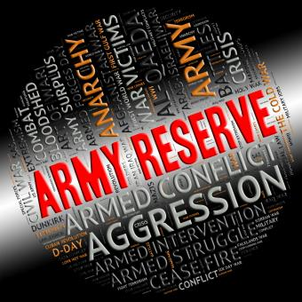 Free Stock Photo of Army Reserve Means Armed Services And Clashes