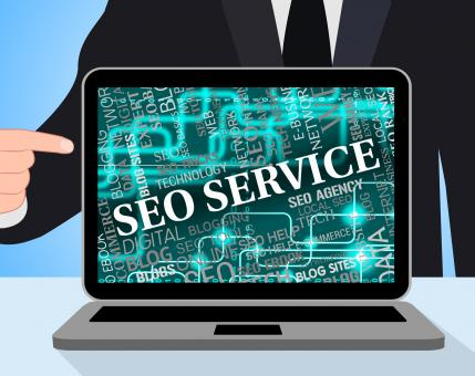 Free Stock Photo of Seo Service Shows Web Site And Assist