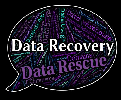 Free Stock Photo of Data Recovery Indicates Getting Back And Bytes