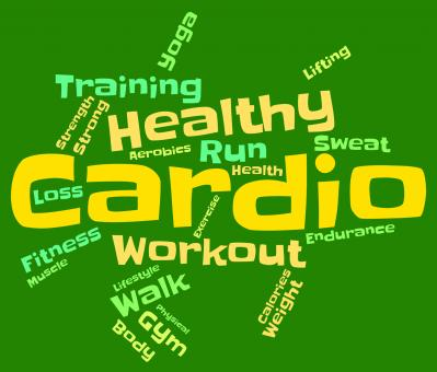 Free Stock Photo of Cardio Word Indicates Get Fit And Athletic