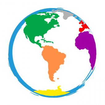 Free Stock Photo of Globe World Means Globalisation Globalise And Colour