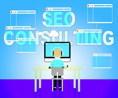 Free Stock Photo of Seo Consulting Represents Search Engines And Consultation