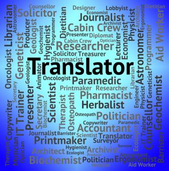 Free Stock Photo of Translator Job Indicates Occupation Hire And Career