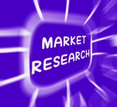 Free Stock Photo of Market Research Diagram Displays Researching Consumer Demand And Prefe