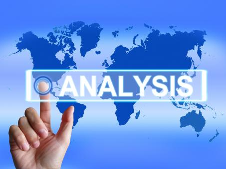 Free Stock Photo of Analysis Map Indicates Internet or International Data Analyzing