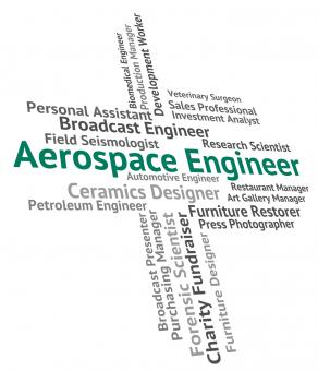 Free Stock Photo of Aerospace Engineer Means Employment Mechanics And Hiring
