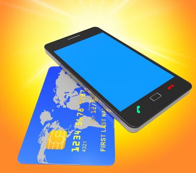 Free Stock Photo of Credit Card Online Means World Wide Web And Banking