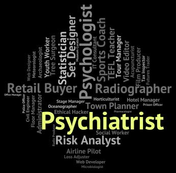 Free Stock Photo of Psychiatrist Job Means Personality Disorder And Hiring