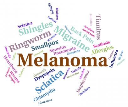 Free Stock Photo of Melanoma Illness Indicates Carcinogenic Sickness And Infection