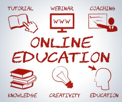 Free Stock Photo of Online Education Indicates Web Site And Educated