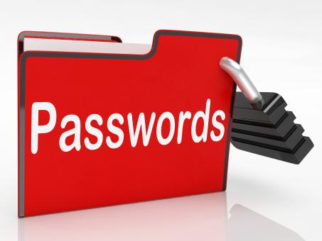 Free Stock Photo of File Passwords Means Log Ins And Access