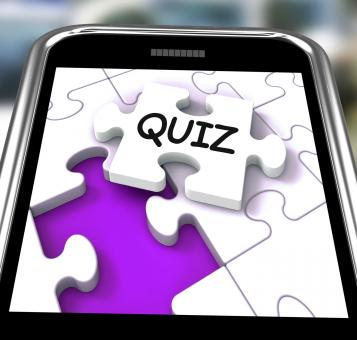 Free Stock Photo of Quiz Smartphone Means Online Exam Or Challenge Questions