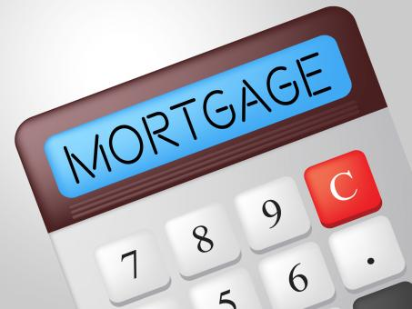 Free Stock Photo of Mortgage Calculator Indicates Borrow Money And Calculate