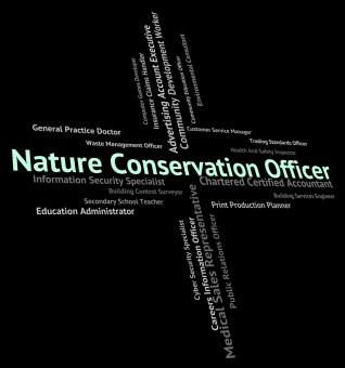 Free Stock Photo of Nature Conservation Officer Means Earth Friendly And Administrat