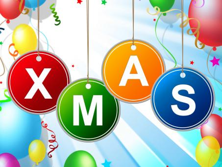 Free Stock Photo of Happy Xmas Indicates Christmas Greeting And Celebrate