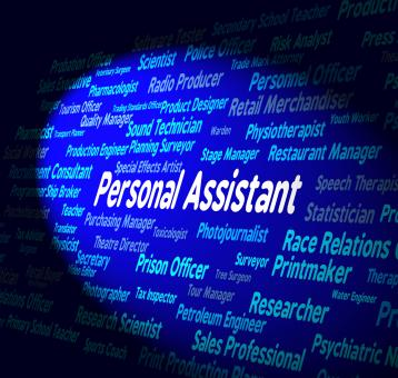Free Stock Photo of Personal Assistant Represents Career Occupations And Private
