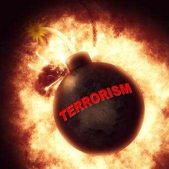 Free Stock Photo of Terrorism Bomb Represents Freedom Fighters And Blast