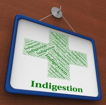 Free Stock Photo of Indigestion Word Indicates Poor Health And Affliction