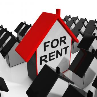 Free Stock Photo of For Rent House Means Leasing To Tenants