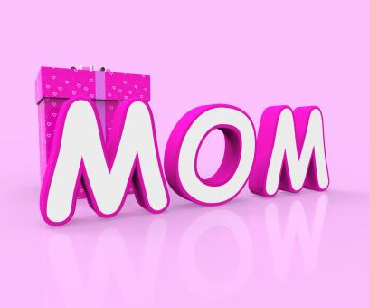 Free Stock Photo of Mom Giftbox Shows Mother Occasion And Celebrate