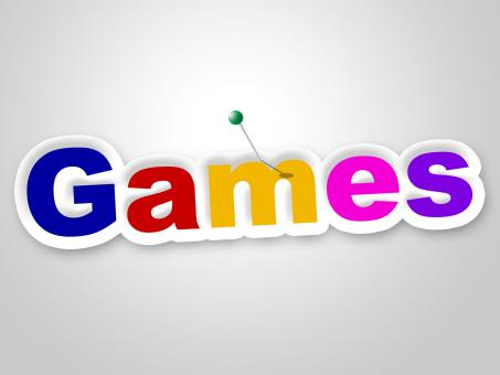 Free Stock Photo of Games Sign Represents Play Time And Fun