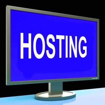 Free Stock Photo of Hosting Shows Web Internet Or Website Domain