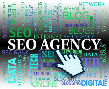Free Stock Photo of Seo Agency Indicates Web Site And Agencies