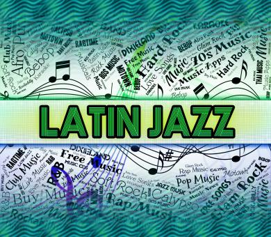 Free Stock Photo of Latin Jazz Shows Sound Tracks And Harmonies