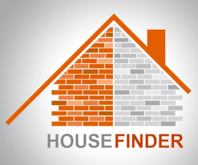 Free Stock Photo of House Finder Shows Finders Home And Found