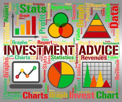 Free Stock Photo of Investment Advice Means Invested Information And Portfolio