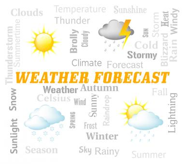 Free Stock Photo of Weather Forecast Indicates Meteorological Conditions And Forecaster