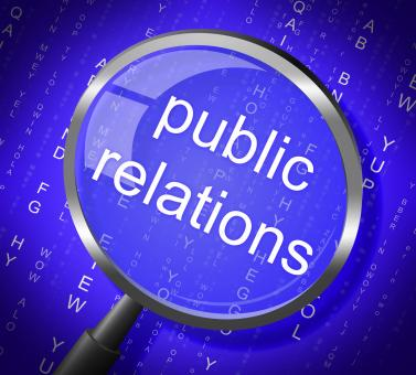 Free Stock Photo of Public Relations Means Press Release And Magnification