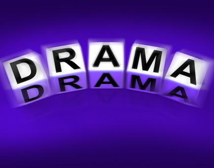 Free Stock Photo of Drama Blocks Displays Dramatic Theater or Emotional Feelings