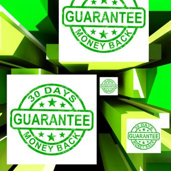 Free Stock Photo of Guarantee On Cubes Shows Certificated Item