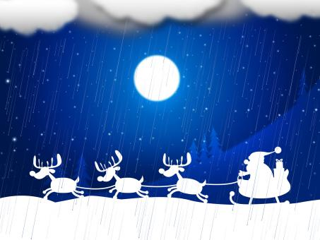 Free Stock Photo of Reindeer Snow Indicates Father Christmas And Animal
