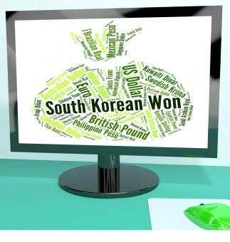 Free Stock Photo of South Korean Won Represents Foreign Currency And Coinage