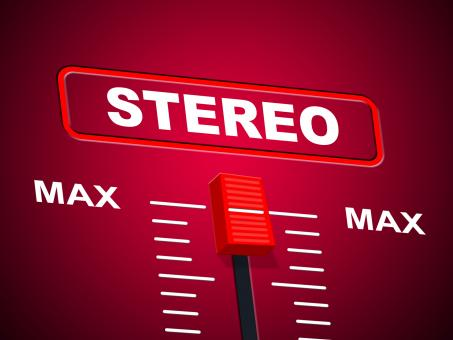 Free Stock Photo of Stereo Music Represents Sound Track And Acoustic