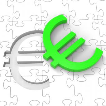 Free Stock Photo of Euro Puzzle Showing European Investments