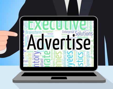 Free Stock Photo of Advertise Word Indicates Advertisement Adverts And Text