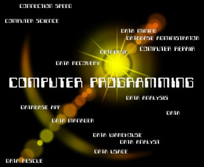 Free Stock Photo of Computer Programming Indicates Software Design And Communication