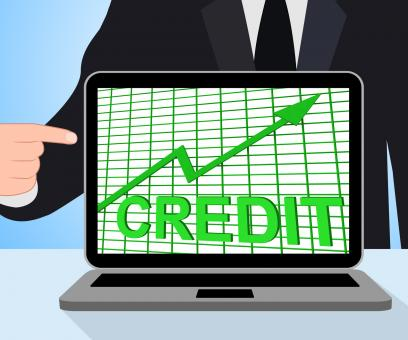 Free Stock Photo of Credit Graph Chart Displays Buy Increase Grow Debt