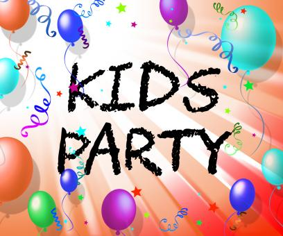 Free Stock Photo of Kids Party Represents Fun Child And Youngsters
