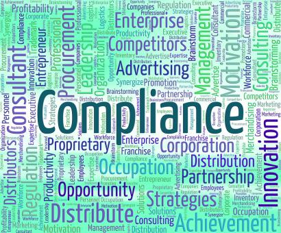 Free Stock Photo of Compliance Word Represents Agree To And Agreement