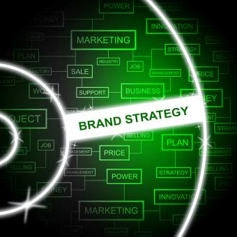 Free Stock Photo of Brand Strategy Means Company Identity And Branded