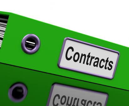 Free Stock Photo of Contract File Shows Legal Business Agreements