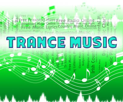 Free Stock Photo of Trance Music Means Sound Tracks And Audio