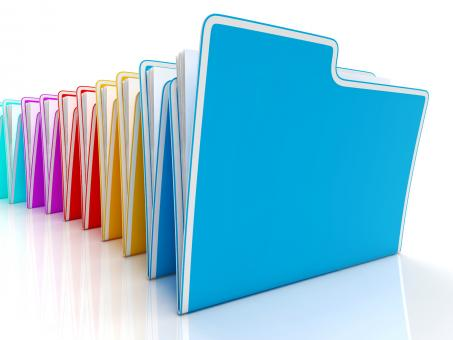 Free Stock Photo of Folders Showing Organizing And Reports