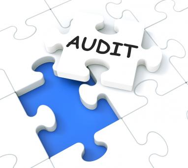 Free Stock Photo of Audit Puzzle Shows Auditing And Reports